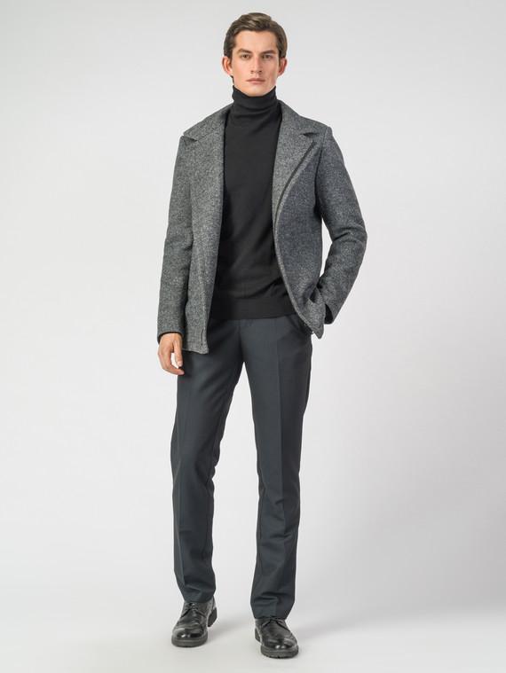 Текстильное пальто 51% п/э,49%шерсть, цвет серый, арт. 30007034  - цена 7990 руб.  - магазин TOTOGROUP