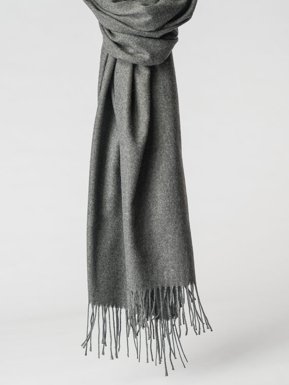 Шарф 100% кашемир, цвет темно-серый, арт. 30007145  - цена 1330 руб.  - магазин TOTOGROUP