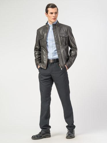 Кожаная куртка кожа , цвет темно-серый, арт. 30106196  - цена 9990 руб.  - магазин TOTOGROUP