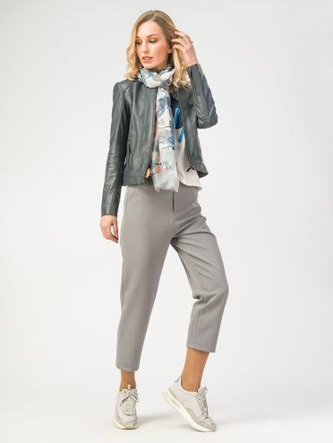 Кожаная куртка кожа , цвет темно-серый, арт. 30106213  - цена 8990 руб.  - магазин TOTOGROUP