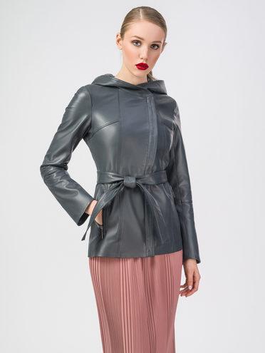 Кожаная куртка кожа , цвет темно-серый, арт. 30106224  - цена 8990 руб.  - магазин TOTOGROUP