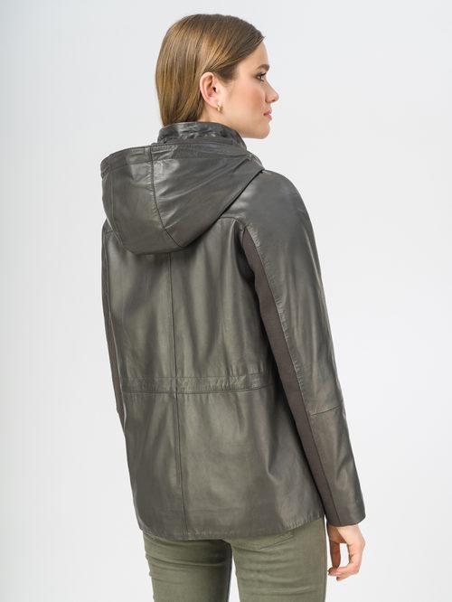 Кожаная куртка артикул 30106264/44 - фото 3