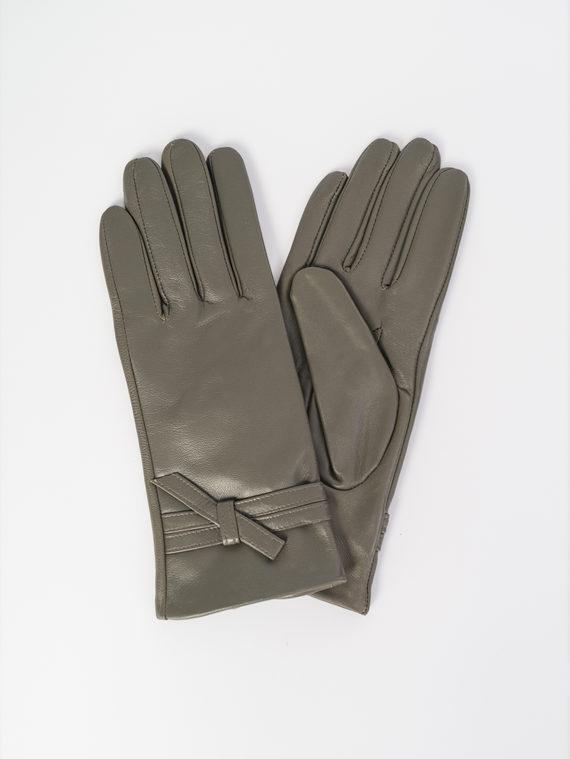 Перчатки кожа , цвет темно-серый, арт. 30107980  - цена 1130 руб.  - магазин TOTOGROUP