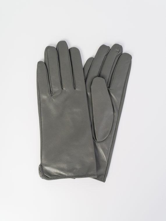 Перчатки кожа , цвет темно-серый, арт. 30107986  - цена 1570 руб.  - магазин TOTOGROUP