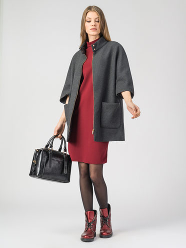 Текстильная куртка 30%шерсть, 70% п\а, цвет темно-серый, арт. 30108106  - цена 3790 руб.  - магазин TOTOGROUP