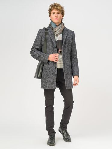 Текстильное пальто 51% п/э,49%шерсть, цвет темно-серый, арт. 30108964  - цена 7990 руб.  - магазин TOTOGROUP