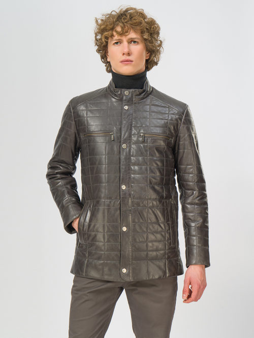 Кожаная куртка артикул 30109538/48 - фото 2