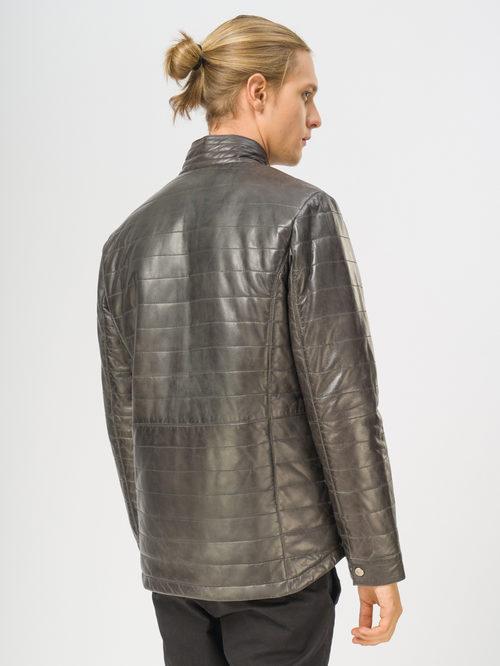 Кожаная куртка артикул 30109539/48 - фото 3