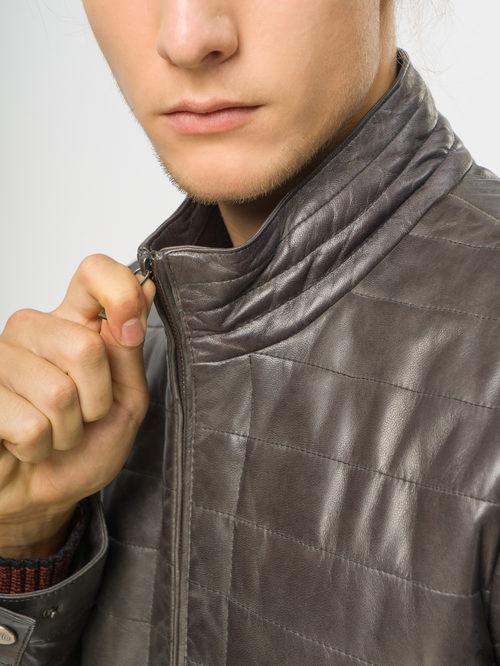 Кожаная куртка артикул 30109539/48 - фото 4