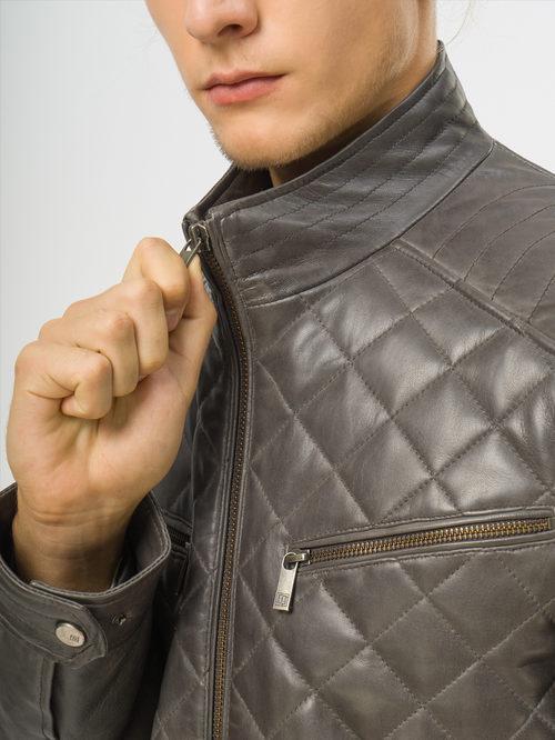 Кожаная куртка артикул 30109541/48 - фото 4