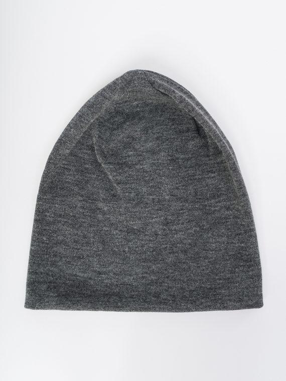 Шапка 100% хлопок, цвет темно-серый, арт. 30109765  - цена 1260 руб.  - магазин TOTOGROUP