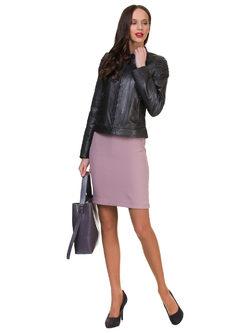 Кожаная куртка кожа овца, цвет темно-серый, арт. 30700139  - цена 11990 руб.  - магазин TOTOGROUP