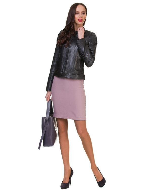 Кожаная куртка кожа , цвет темно-серый, арт. 30700139  - цена 11290 руб.  - магазин TOTOGROUP