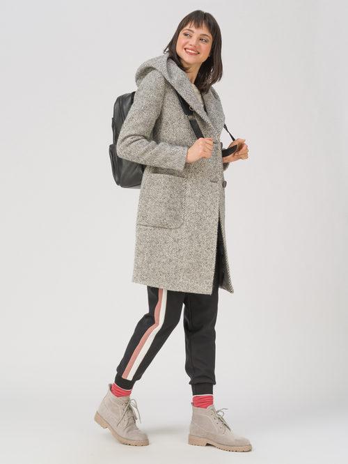Текстильное пальто артикул 30711413/42 - фото 2