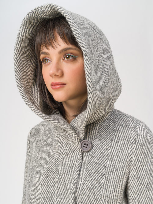 Текстильное пальто артикул 30711413/42 - фото 3
