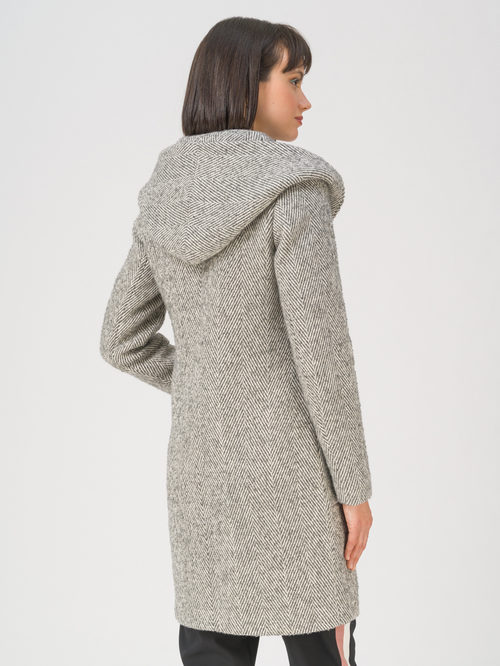 Текстильное пальто артикул 30711413/42 - фото 4