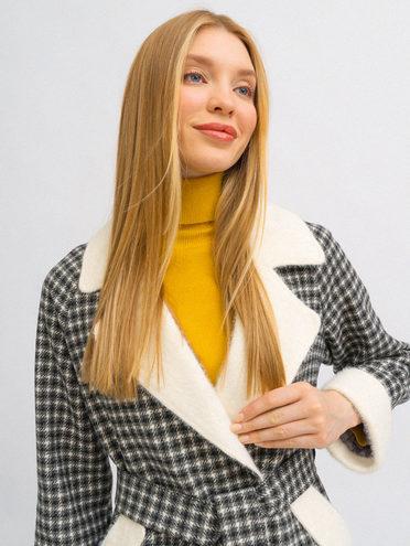 Текстильное пальто 30% шерсть, 70% п.э, цвет темно-серый, арт. 30719892  - цена 5890 руб.  - магазин TOTOGROUP