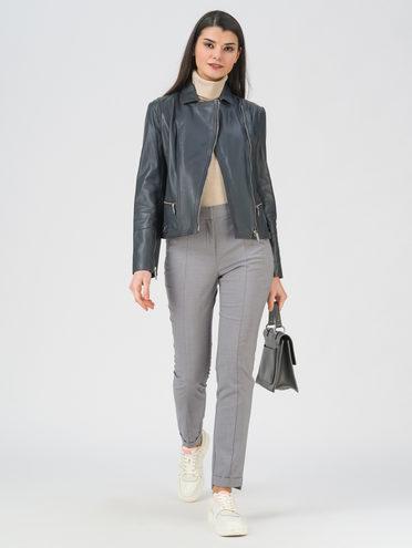 Кожаная куртка кожа , цвет темно-серый, арт. 30802469  - цена 9990 руб.  - магазин TOTOGROUP