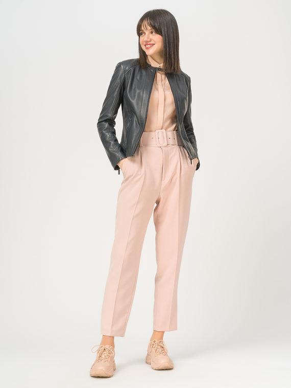 Кожаная куртка кожа, цвет темно-серый, арт. 30802476  - цена 7990 руб.  - магазин TOTOGROUP