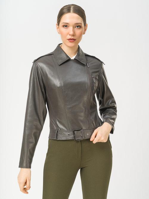 Кожаная куртка артикул 30802488/42 - фото 2