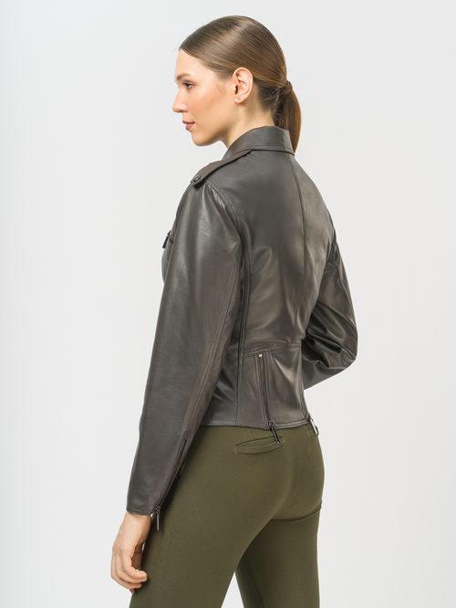 Кожаная куртка артикул 30802488/42 - фото 3