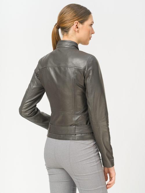Кожаная куртка артикул 30802492/42 - фото 3