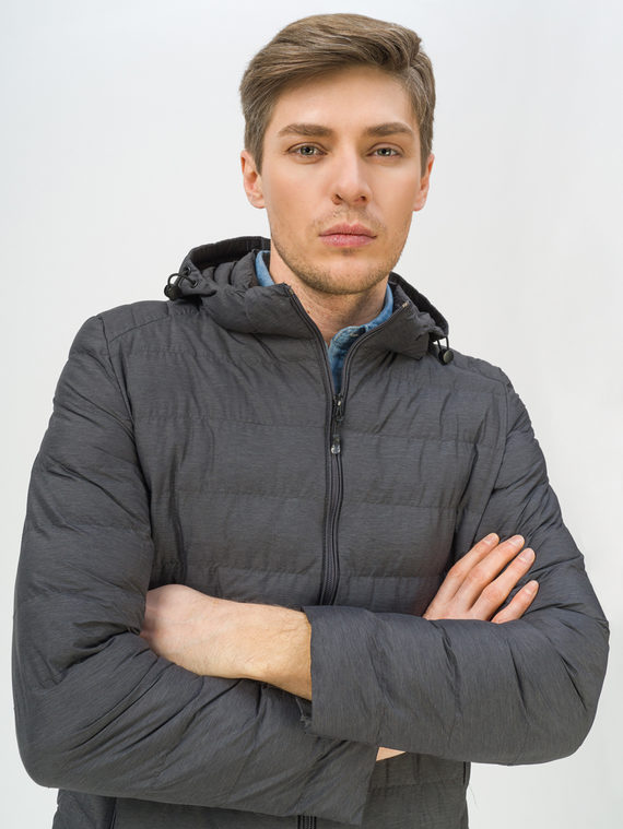 Ветровка 100% полиэстер, цвет темно-серый, арт. 30809238  - цена 2420 руб.  - магазин TOTOGROUP