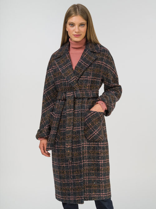 Текстильное пальто артикул 30809284/44 - фото 2