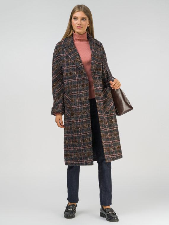 Текстильное пальто , цвет темно-серый, арт. 30809284  - цена 7490 руб.  - магазин TOTOGROUP