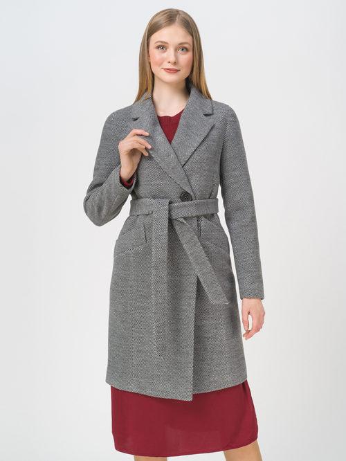 Текстильное пальто артикул 30809288/46 - фото 2