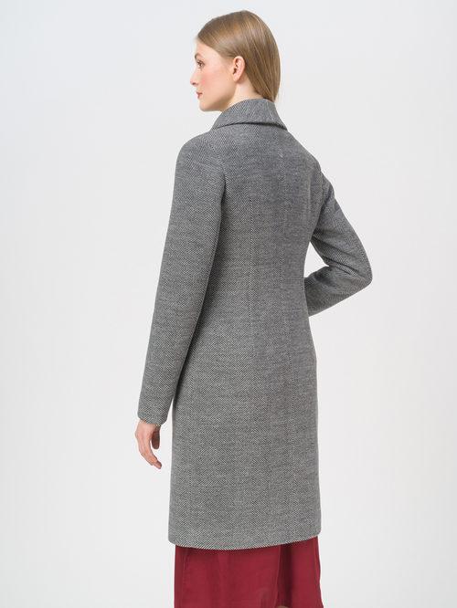 Текстильное пальто артикул 30809288/46 - фото 3