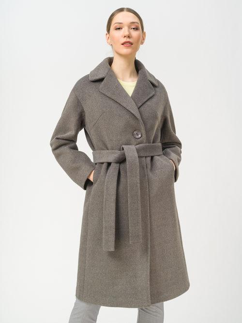 Текстильное пальто артикул 30809318/42 - фото 2