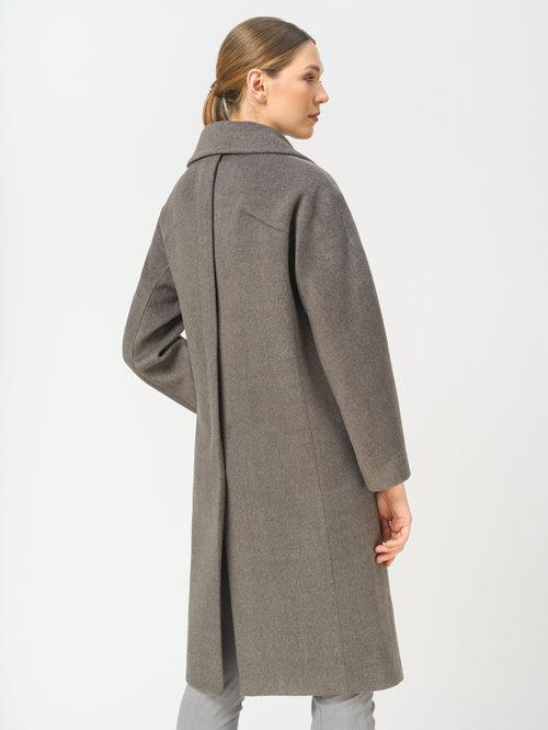 Текстильное пальто артикул 30809318/42 - фото 3