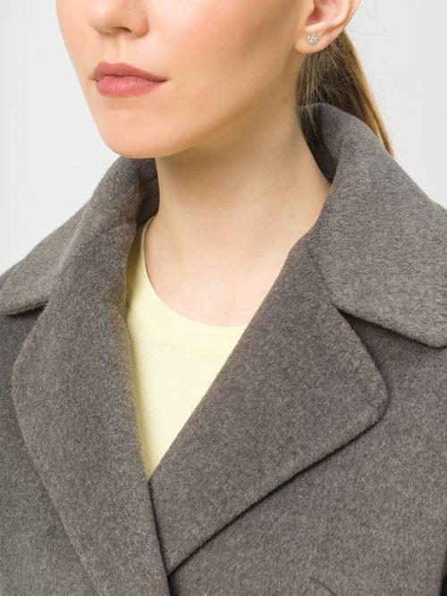 Текстильное пальто артикул 30809318/42 - фото 4