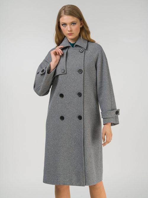 Текстильное пальто артикул 30809320/50 - фото 2