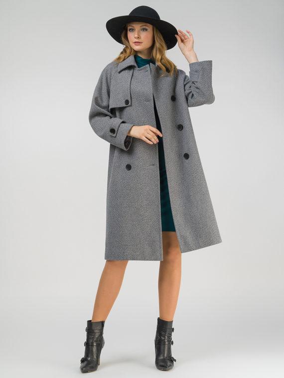 Текстильное пальто , цвет темно-серый, арт. 30809320  - цена 6990 руб.  - магазин TOTOGROUP