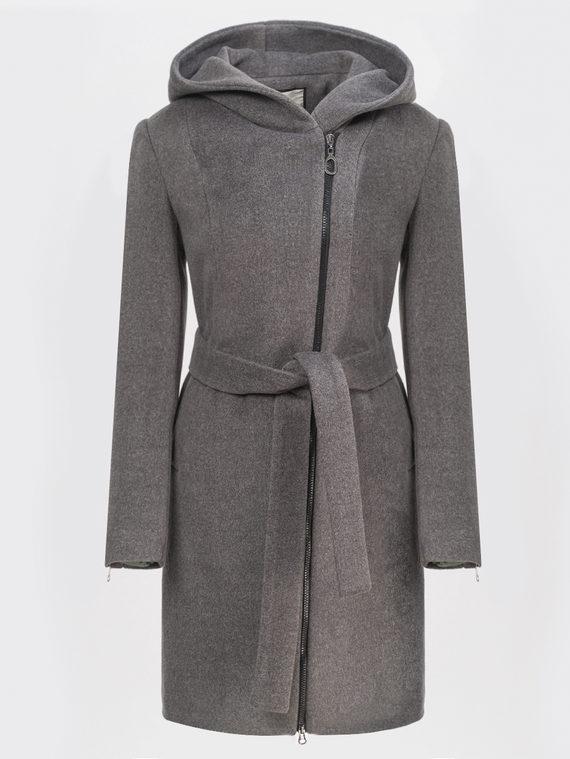 Текстильное пальто , цвет темно-серый, арт. 30809326  - цена 3990 руб.  - магазин TOTOGROUP
