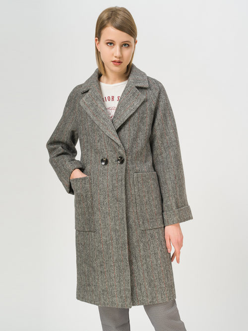 Текстильное пальто артикул 30809971/42 - фото 2