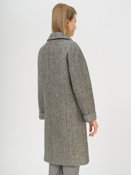 Текстильное пальто артикул 30809971/42 - фото 3