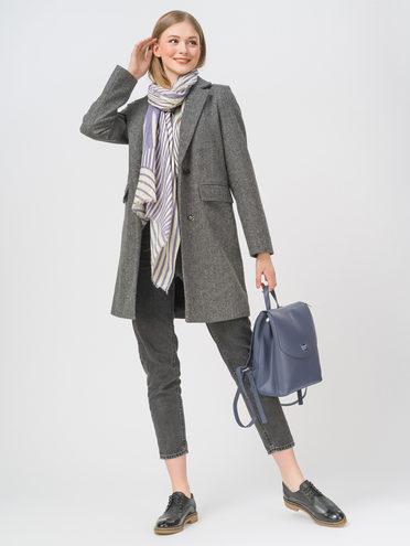 Текстильное пальто 35% шерсть, 65% полиэстер, цвет темно-серый, арт. 30810090  - цена 5890 руб.  - магазин TOTOGROUP