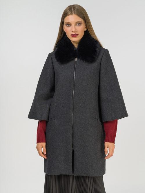 Текстильное пальто артикул 30810111/42 - фото 2