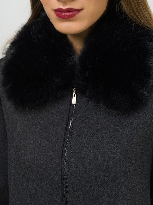 Текстильное пальто артикул 30810111/42 - фото 3