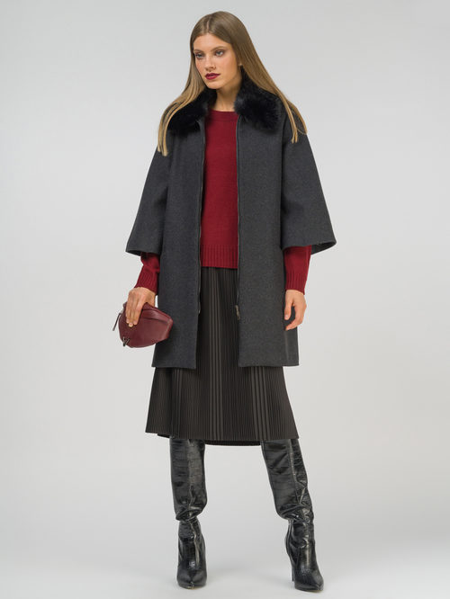 Текстильное пальто артикул 30810111/42