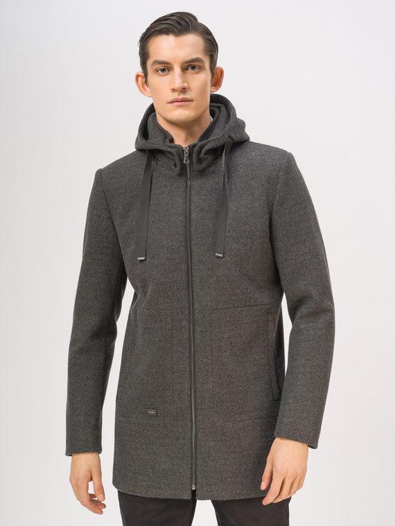 Текстильная куртка 51% п/э,49% шерсть, цвет темно-серый, арт. 30810134  - цена 7490 руб.  - магазин TOTOGROUP