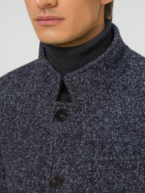 Текстильное пальто артикул 30810373/46 - фото 3