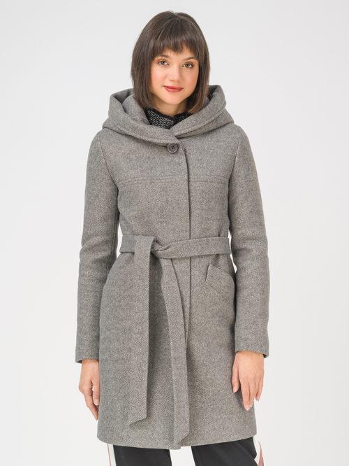 Текстильное пальто артикул 30810657/42 - фото 2