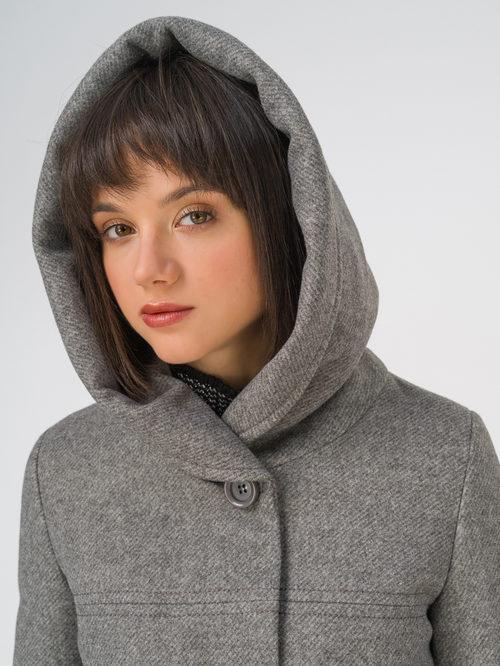 Текстильное пальто артикул 30810657/42 - фото 3