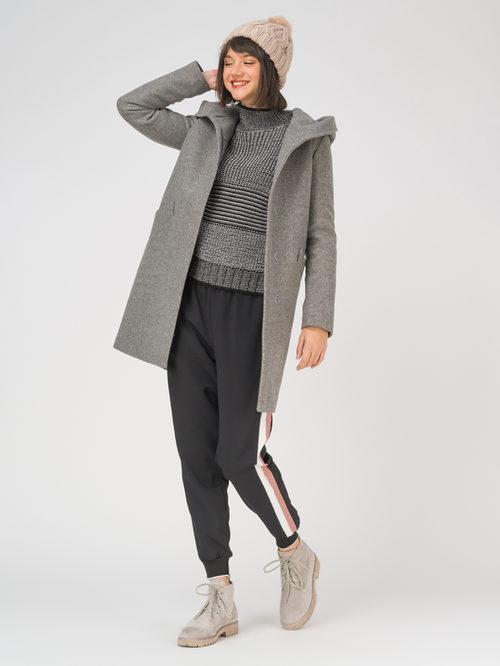 Текстильное пальто артикул 30810657/42