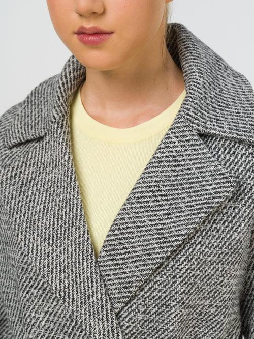 Текстильное пальто артикул 30810663/42 - фото 3