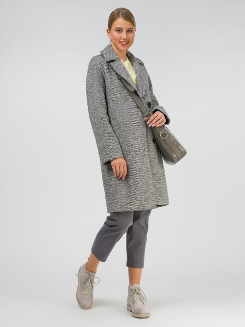 Текстильное пальто артикул 30810663/42
